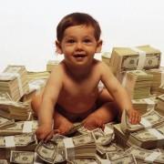 деньги дети