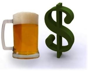 доход за пиво