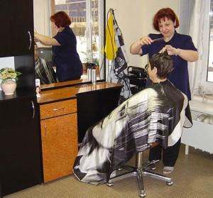парикмахерская в поселке